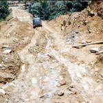 The road between Mamfe and Bamenda could become almost impassable during the rainy season.