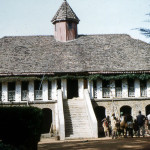 Our main destination in Cameroon was Bafut which Durrell had visited before and which he wrote about in his book 'The Bafut Beagles'. We stayed in the Fon of Bafut's rest house, pictured here.