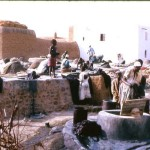 Dying cloth at Kano, December 1963.