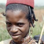 Aku boy. Wum area, Cameroon, April 1966.