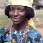 Aku woman. Wum market, Cameroon, April 1966.
