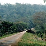 Olokomeji is located north of Ibadan. With its forest and stream and small rest house where one could picnic, it attracted day trippers from Ibadan, Ilorin and other nearby towns. 1966.