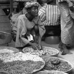 Market scene, Ibadan, Nigeria. 1965.