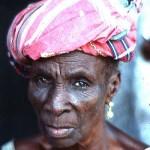 Street corn seller, Osogbo, southwestern Nigeria. 1977.