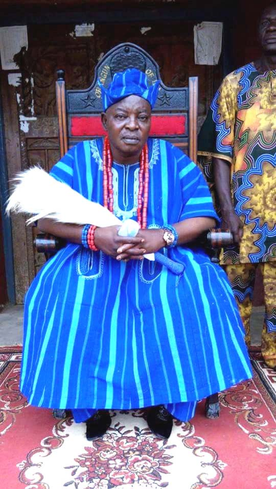 The present (2015) Orangun of Ila, Oba Olukayide Oyedotun Bibire 1.